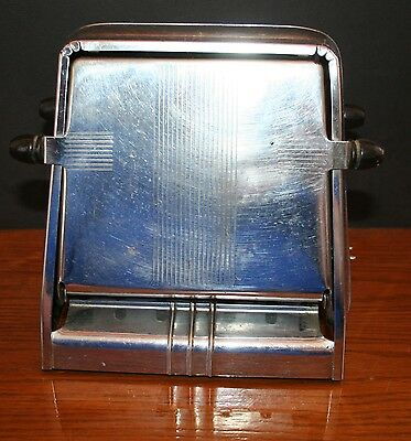 Antique Westinghouse Flip-Up Chrome Toaster WORKS ORIG. CORD No. TL-4