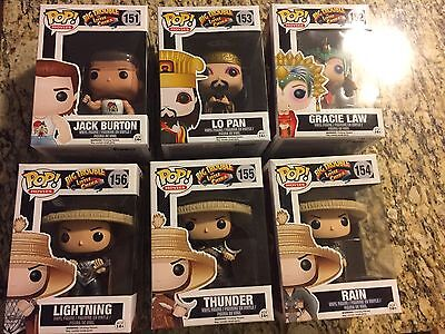 Funko POP Big Trouble In Little China set