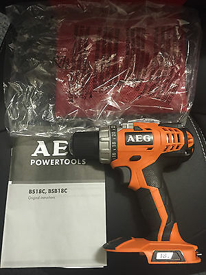 AEG 18V Compact Drill Driver BS 18C - Brand New! Skin Only! In Packaging