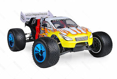 HSP 2.4Ghz 1/10 Brushless 4WD Lipo Battery Off Road RC Truggy Truck 94124N12415