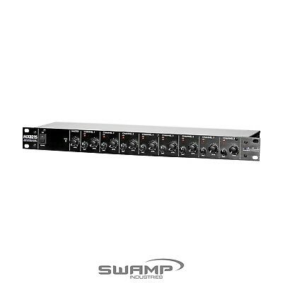 ART MX821S - 8 Channel Rack Mountable Mic / Line Mixer Mixing Console Stereo Out