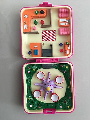 Vintage 1992 Hinstar Polly Pocket Paradise Small World Octopus Compact ONLY