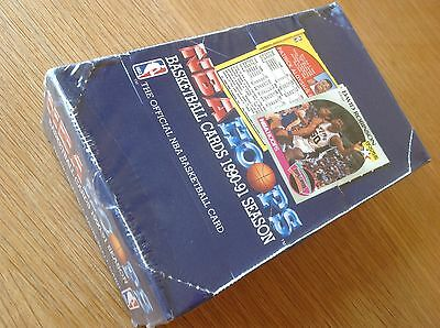 Unopened Box Nba Hoops 1990-1 Basketball Trading Cards