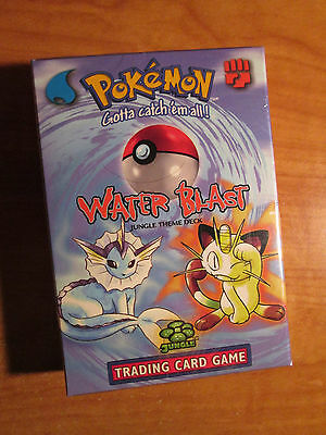 Sealed COMPLETE Pokemon WATER BLAST Card JUNGLE Set THEME DECK Holo Vaporeon TCG