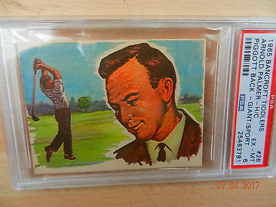 bancroft tiddlers sport cards  ARNOLD PALMER   PSA 6 price reduced