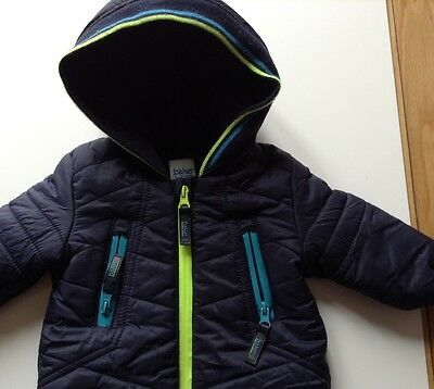 Pre-Loved 100% Auth Ted Baker, Baby Boy Snowsuit With Logo. 3-6 Months