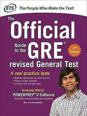 GRE the Official Guide to the Revised General Test 2/E (Book) by Educational...