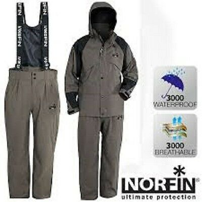 Norfin GALE Fishing Suit 2 Piece NORТЕХ ВREATHABLE Suit *All Sizes*