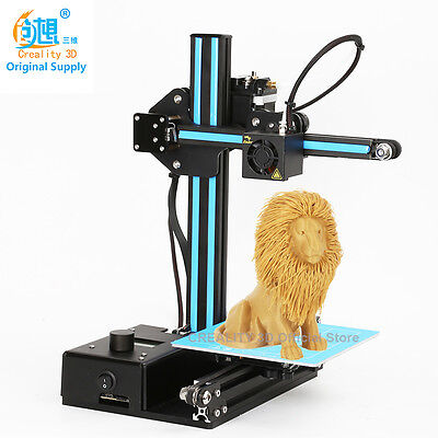 New High Quality Precision Creality 3D Printer with Free 3D Printer Filaments