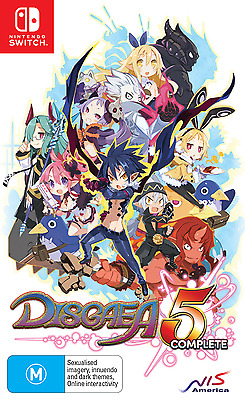 Disgaea 5 Complete - Nintendo Switch Brand new and sealed