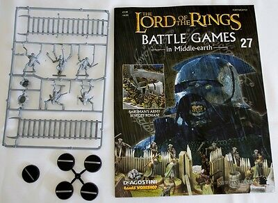 Lord Of The Rings:Battle Games In Middle-Earth–Issue #27 Magazine & miniatures