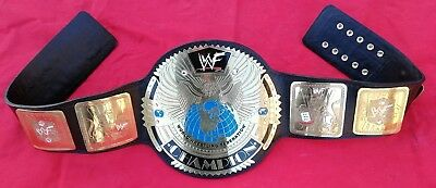 Wwf Big Eagle Scratch Logo Wrestling Championship Replica Belt 4Mm Brass Plates