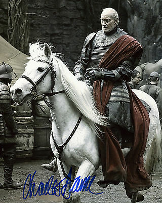 Charles Dance - Tywin Lannister - Game of Thrones - Signed Autograph REPRINT