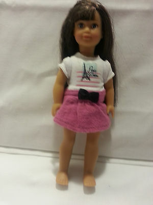 American girl mini retired doll - no boots