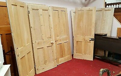 Victorian/edwardian/deco Stripped Pine Internal Doors
