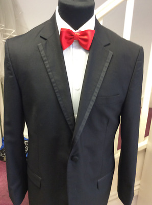 Black Dinner Jacket By Robelli Ideal For Wedding Or Prom