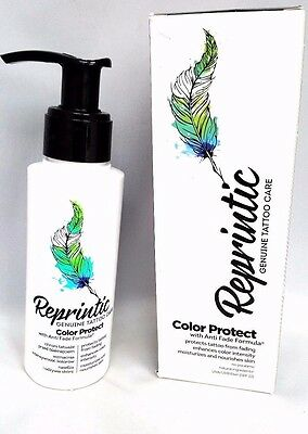 Pl/Reprintic Tattoos Cream Daily Protective/After Tattoo COLOUR STOPS FADING