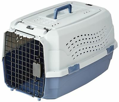 AmazonBasics 23-Inch Two-Door Top-Load Pet Kennel Kennel Only