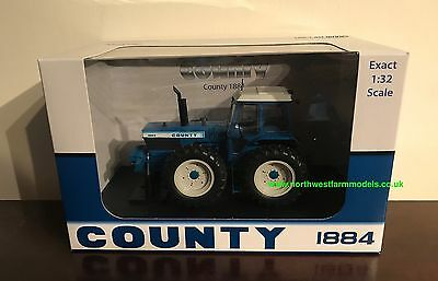 Universal Hobbies 1/32 Scale County 1884 Tractor Limited Edition 5236 *in Stock*