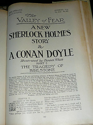 Original illustrated Strand Adventures of Sherlock Holmes Complete collection.