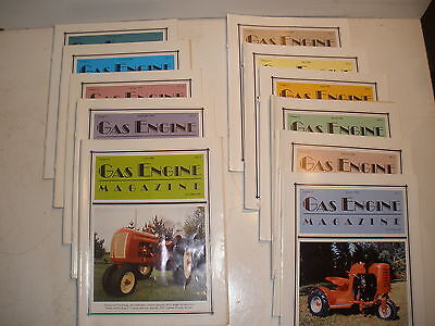 Gas Engine Magazine lot of 11 issues from 1996