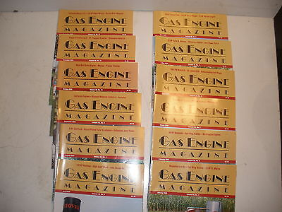 Gas Engine Magazine lot of all 12 issues from 2005