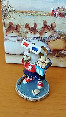 "Wee Forest Folk M-288s ""Mousie's Matinee"" LTD EDITION 3-D Glasses Mint"