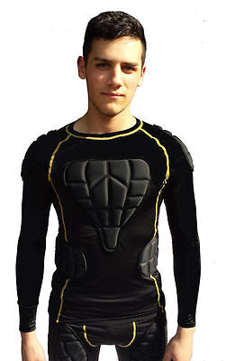 Sports Body Armour Impact Top for Horse riding by SPS - size Junior & small