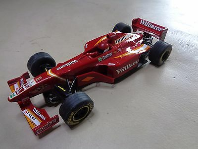 SCALEXTRIC CAR MODEL C2161 FORMULA ONE WILLIAMS FW20, No.1 JACQUES VILLENEUVE