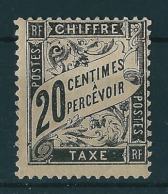 France - Timbre Taxe 17 Neuf * - Cote 500 €