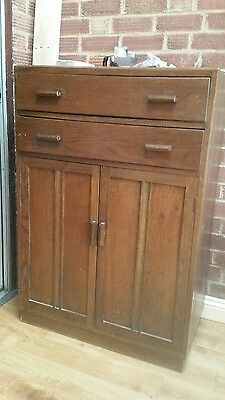 Art Deco tallboy cupboard chest of drawers vintage very old