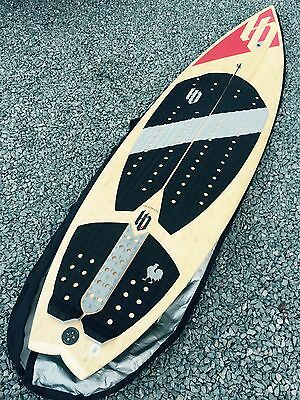 """HB Lafayette 5'10"""" bamboo kite surf surf board mint condition"""
