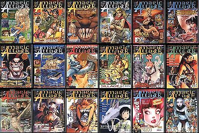 Troy Sillage Luuna Atalante Elfquest uva - Magic Attack 1-19 komplett (Zack) TOP
