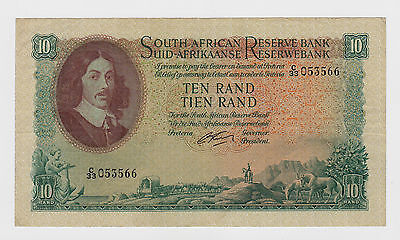 South Africa - 1962-65, 10 Rand