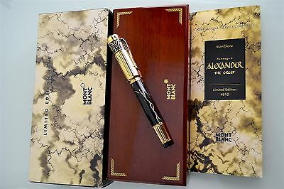 Montblanc Alexander The Great - Patron Of Arts 1998 - Limited Ed. Fountain Pen