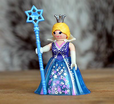 Playmobil 5599 Series 9 Star Queen Figure - NEW Repacked Princess Castle Fairy
