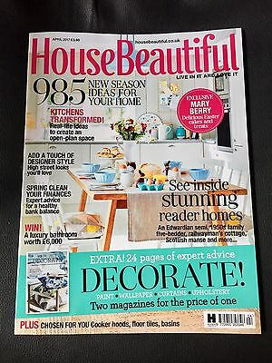 House Beautiful (April 2017) BN Sealed!!