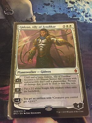 MtG : Gideon, Ally of Zendikar : Mythic Rare : Battle for Zendikar