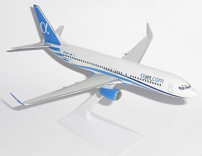 Collectors Model Boeing 737-800 aJet (Alpha Jet) Airlines Cyprus Scale 1/200