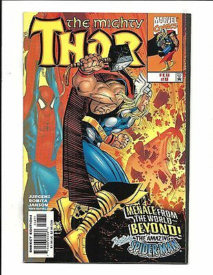 THOR VOL.2 # 8 (SPIDER-MAN app. FEB 1999), NM