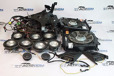 Bmw E63 6 Series Professional Logic7 Subwoofers Speakers Wiring
