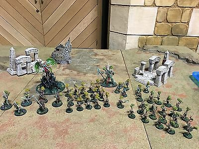 Games Workshop Warhammer Age Of Sigmar Painted Sylvaneth Army (to Order)