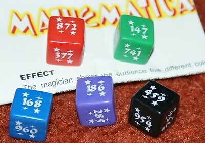 Human Calculator Dice -- super mind demo -- new version of Di-Cypher        TMGS