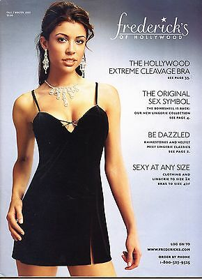 Frederick's of Hollywood Fall/Winter 2003 Vol/ 2 Vintage Lingerie Catalog