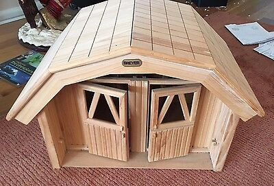 Large Wooden Breyer Horse Stable/stall/barn - For Traditional Size Horses - Ex