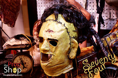 Leatherface Killing Mask 74 by the PropShop, Rare, Texas Chainsaw Mask