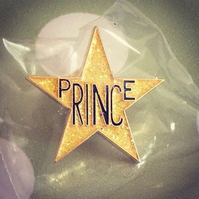 PRINCE Pin Badge first Ave Star