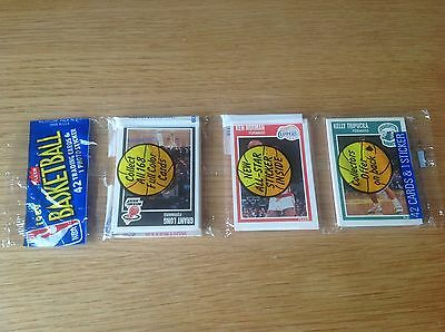 Unopened Rack pack vintage 1989 NBA Basketball Trading Cards Jordan?