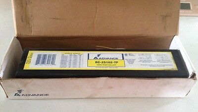 Advance Rc2S102Tp Magnetic Std Rpaid Start Ballast, Nib