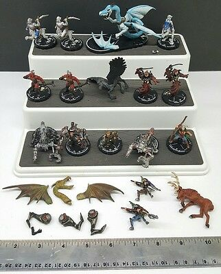 Mage Knight Dark D&D Riders Figures Lot of (16)